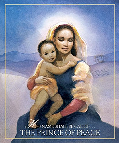 African American Christmas Madonna & Child Large Bulletin 2005 (Package of 50): His Name Shall Be...