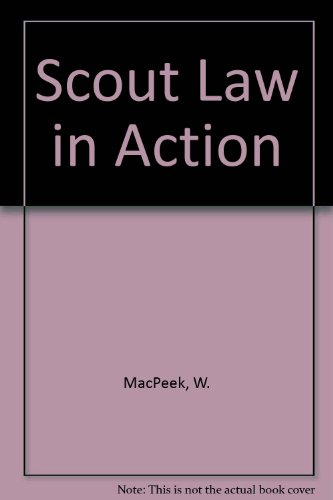 9780687370283: Scout Law in Action