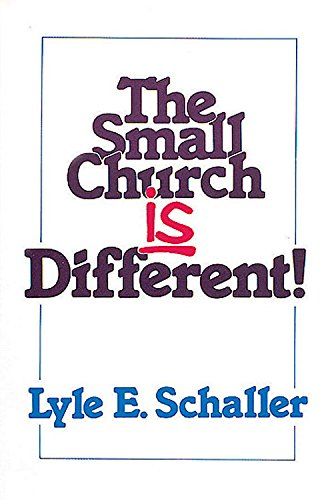 9780687387175: The Small Church is Different!