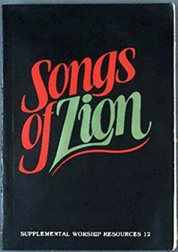 9780687391202: Songs of Zion (Supplemental Worship Resources)
