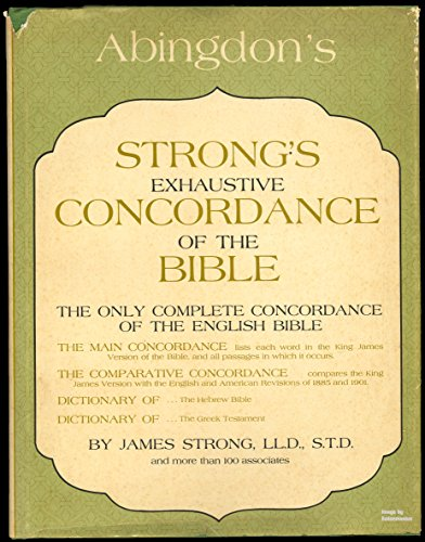 9780687400287: Strongs Exhaustive Concordance
