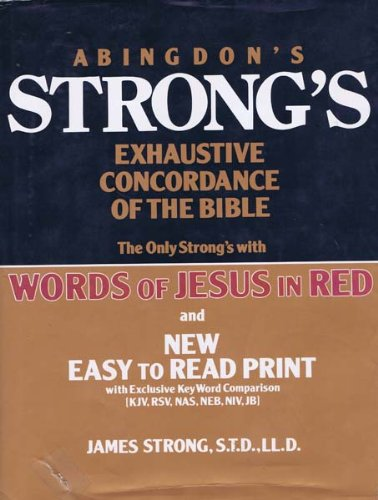 9780687400331: Abingdon's Strong's Exhaustive Concordance of the Bible