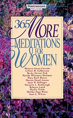 365 More Meditations for Women: Marjorie Kimbrough