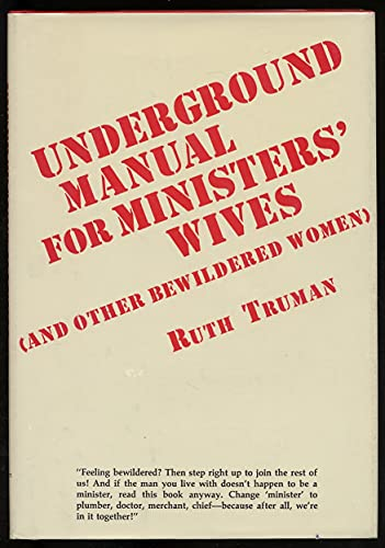 9780687427963: Underground manual for ministers' wives