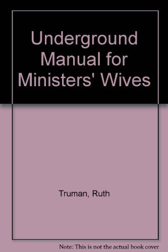 9780687427970: Underground Manual for Ministers' Wives