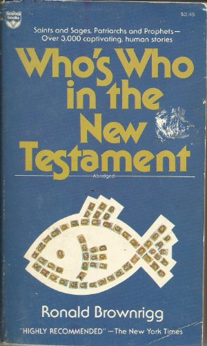 9780687453528: Who's Who in the New Testament