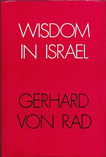 9780687457564: Wisdom in Israel