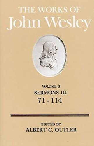 9780687462124: The Works of John Wesley Volume 3: Sermons III (71-114)