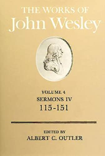 9780687462131: The Works of John Wesley Volume 4: Sermons IV (115-151)