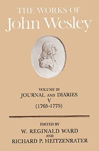 9780687462261: The Works of John Wesley Volume 22: Journal and Diaries V (1765-1775)