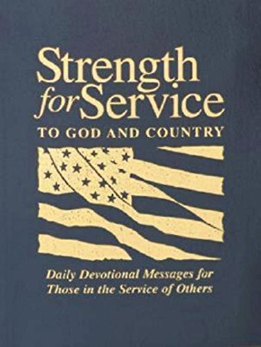 9780687491261: Strength for Service to God and Country-Navy
