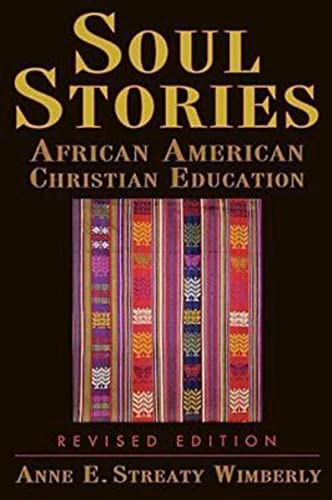 9780687494323: Soul Stories: African American Christian Education