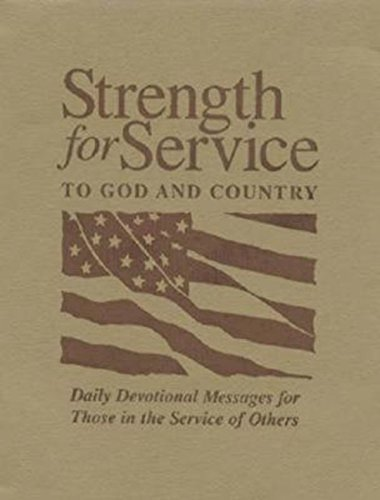 9780687645268: Strength for Service to God and Country - Khaki