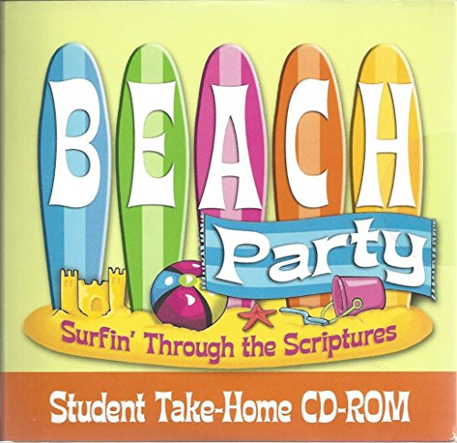9780687646173: Beach Party: Surfin Through the Scriptures, Vbs08 Student Take Home CD-Rom