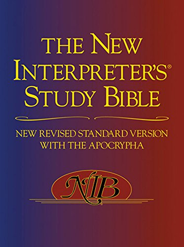 9780687647330: Paperback ed. New Interpreter's Study Bible, NRSV: New Revised Standard Version with Apocrypha
