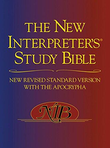 9780687647330: Paperback ed. New Interpreter's Study Bible, NRSV: New Revised Standard Version with Apocrypha