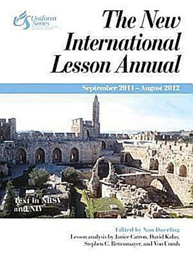 9780687660315: The New International Lesson Annual 2011-2012