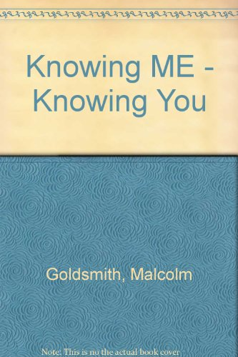 9780687856336: Knowing Me - Knowing You: Exploring Personality Type and Temperament