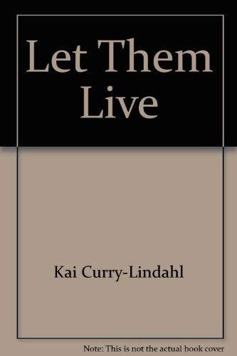 9780688000462: Let Them Live