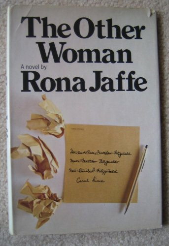9780688000899: The Other Woman. [Hardcover] by Rona. Jaffe