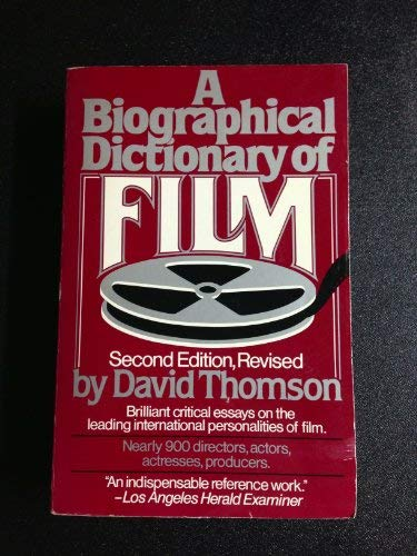 9780688001315: The Biographical Dictionary of Film