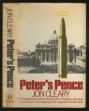 9780688002527: Peter's pence; a novel