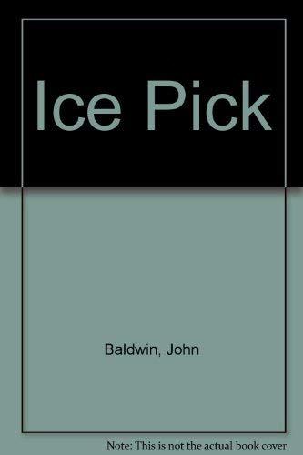 9780688006792: Ice Pick