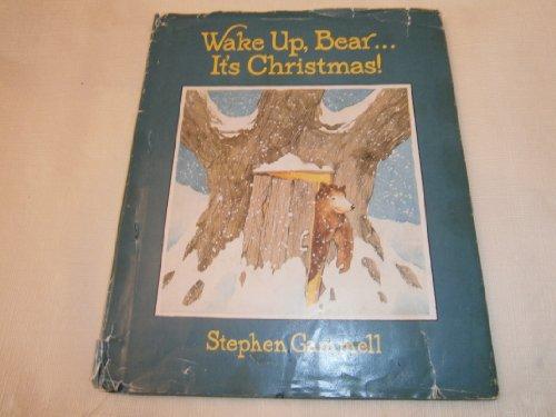 9780688006921: Wake-Up, Bear--It's Christmas!