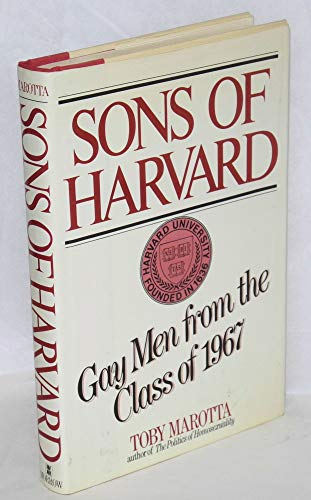 Sons of Harvard: Gay men from the class of 1967: Marotta, Toby