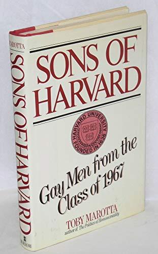 Sons of Harvard: Gay men from the class of 1967: Marotta, Toby
