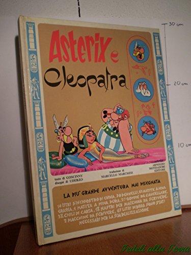9780688010805: F- ASTERIX E CLEOPATRA - GOSCINNY UDERZO - MONDADORI - 3a ED. 1969 - C - GL76
