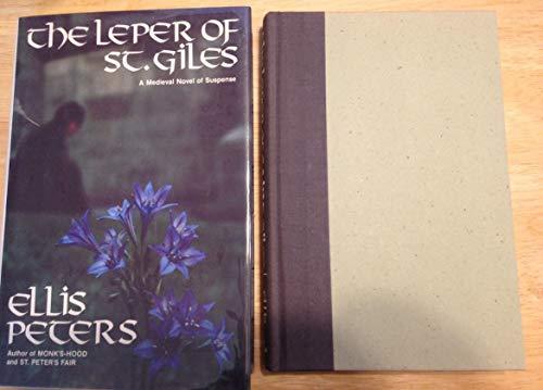 9780688010973: Leper of Saint Giles