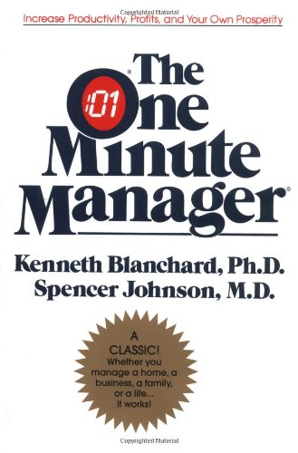 9780688014292: The One Minute Manager Anniversary Ed: The World's Most Popular Management Method