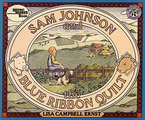 9780688015176: Sam Johnson and the Blue Ribbon Quilt