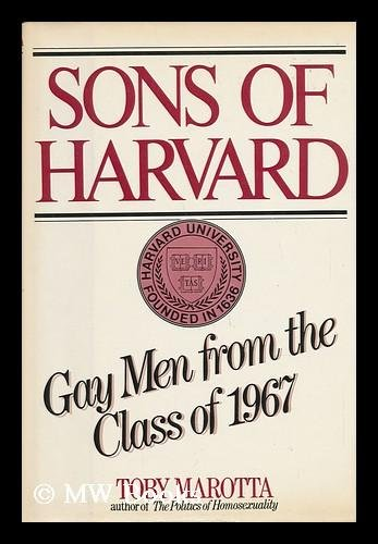 9780688019075: Sons of Harvard: Gay men from the class of 1967