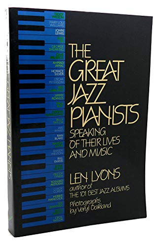 9780688019211: Title: The Great jazz pianists Speaking of their lives an