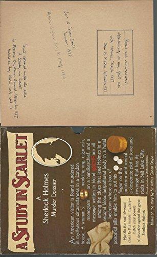 9780688019518: A STUDY IN SCARLET (SHERLOCK HOLMES)