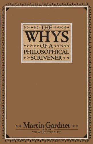 9780688020637: The Whys of a Philosophical Scrivener