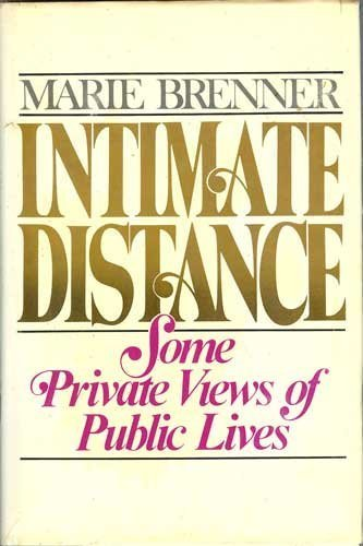 Intimate Distance: Brenner, Marie