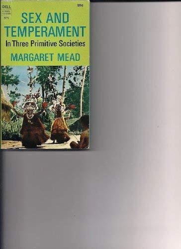 9780688024543: Sex and Temperament in Three Primitive Societies