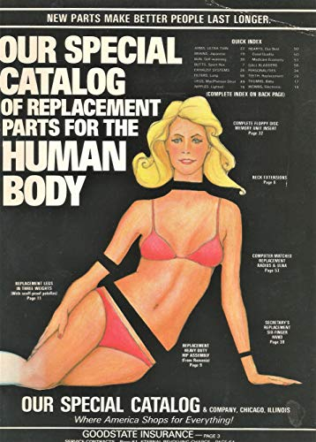 9780688025069: Our Special Catalog of Replacement Parts for the Human Body