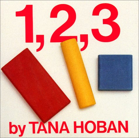 9780688025793: 1, 2, 3 Board Book