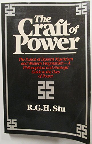 9780688026257: The Craft of Power