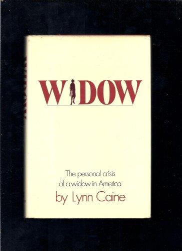 9780688028503: Widow