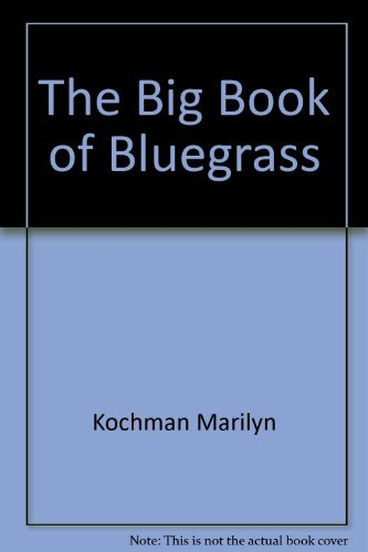 9780688029401: The Big book of bluegrass