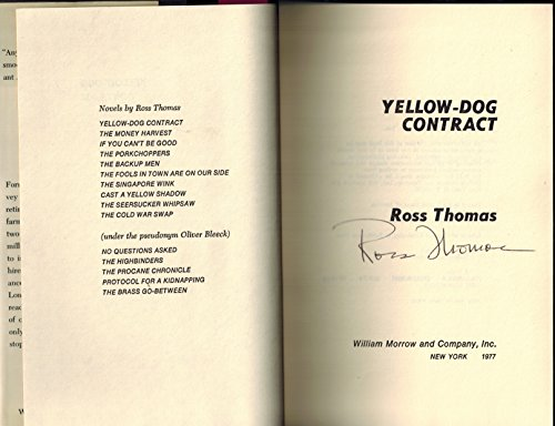 YELLOW-DOG CONTRACT: Thomas, Ross