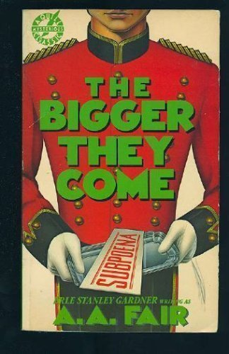 9780688031374: The Bigger They Come
