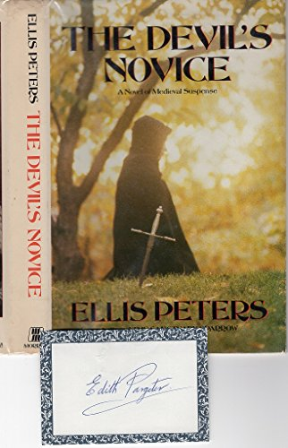 9780688032470: The Devil's Novice: The Eighth Chronicle of Brother Cadfael