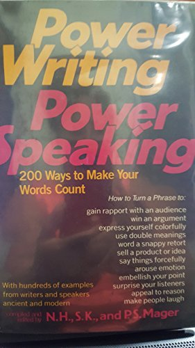 9780688032951: Power Writing, Power Speaking: 200 Ways to Make Your Words Count