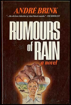 9780688033675: Rumours of rain: A novel